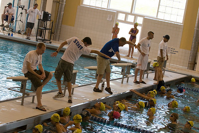 Hamilton College Swim Camp, 7/13/09