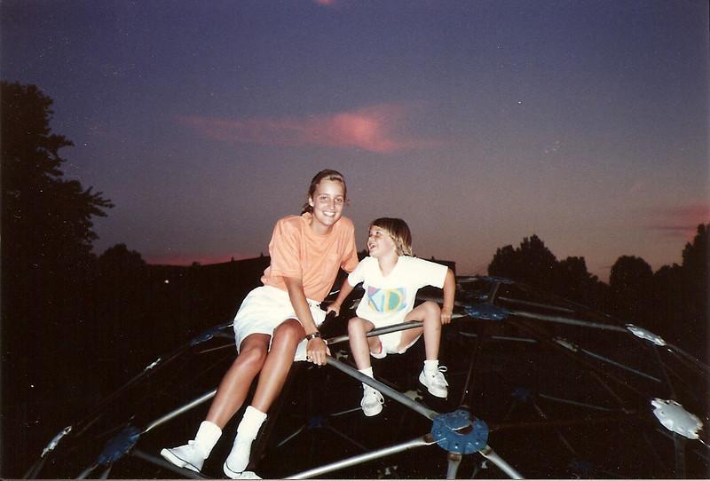 Caroline & Brittany   7/90