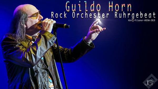 Rock Orchester Ruhrgebeat at the Konig-Pilsener-ARENA March 2019 - Featuring Mr Guildo Horn.