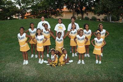 Bulldogs 5th Grade Cheerleaders Oct 2007