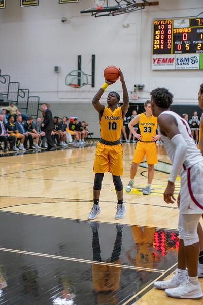 GHS Boys Basketball vs Danville Jan. 21, 2019