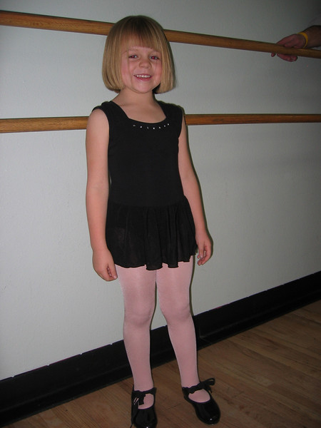 Lily's dance demonstration - Dec 2007