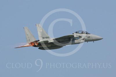 AFTERBURNER: Japanese Self Defense Force McDonnell Douglas F-15J Eagle Jet Fighter Afterburner Pictures