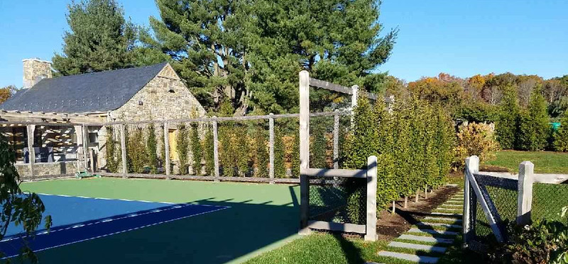 198 - 448612 - Roxbury CT - Tennis Court Enclosure