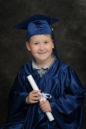 Brady - Kindergarten Grad