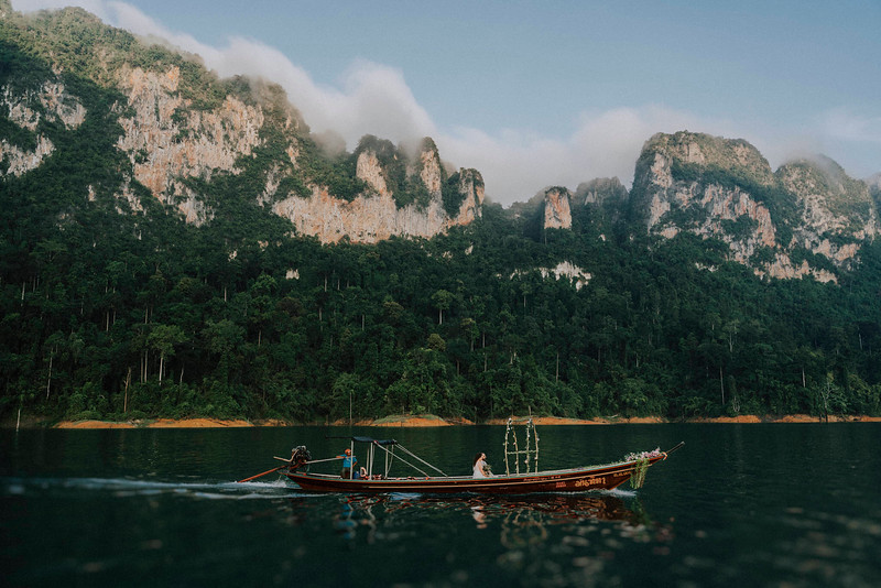 M + N | Elopement on Cheow Lan Lake, Khao Sok National Park, Thailand