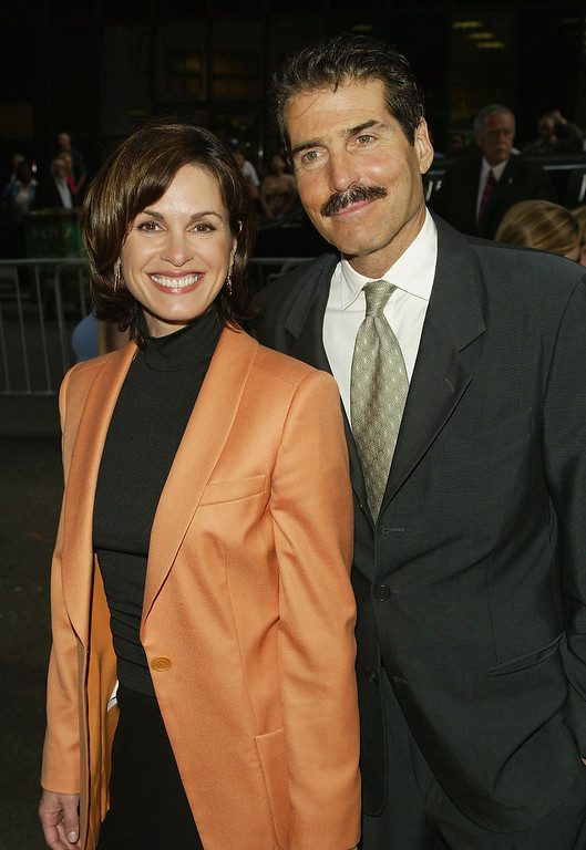 . NEW YORK - MAY 18:  News Anchor Elizabeth Vargas and John Stossel attend the ABC Network All-Star Party on May 18, 2004 in New York City.  (Photo by Peter Kramer/Getty Images)