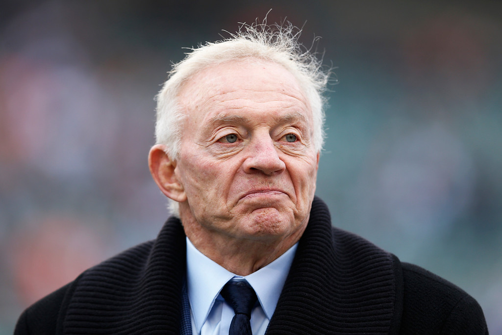 ". <p><b> Dallas Cowboys owner Jerry Jones on Tuesday marked the 25th anniversary of this pivotal moment in his life � </b> <p> A. He purchased of the Dallas Cowboys <p> B. He pulled off the Herschel Walker trade with the Vikings <p> C. He dug his hands into Tom Landry�s chest, ripped out his still-beating heart and rubbed it in his face <p><b><a href=\'http://msn.foxsports.com/southwest/story/jerry-jones-craziest-moments-as-owner-of-dallas-cowboys-022514\' target=""_blank\"">HUH?</a></b> <p>    (Joe Robbins/Getty Images)"