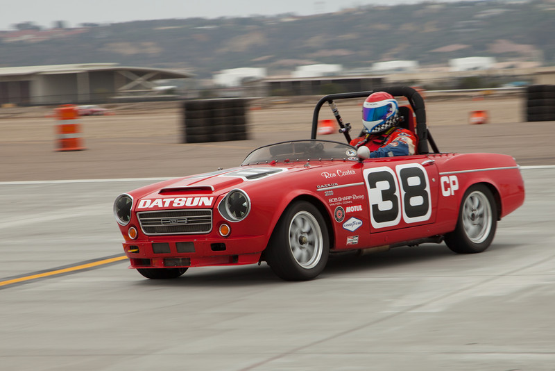 Ron Carter's 1967 Datsun 2000, during Friday practice.