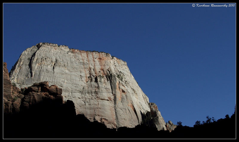 Great White Throne, Zion National Park, Utah, May 2010