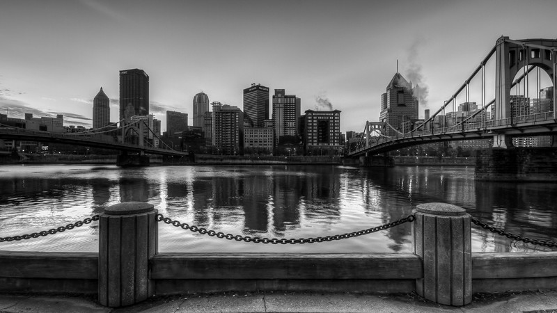 City Bridges BW