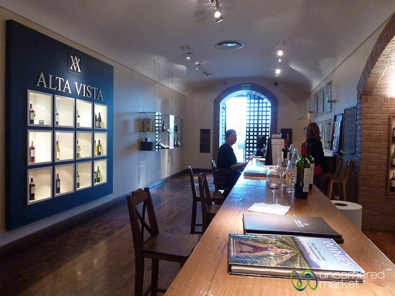 A Round of Wine Tasting at Alta Vista Winery - Mendoza