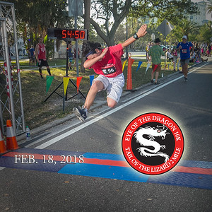 Eye of the Dragon 10K and 2 Mile, 2018