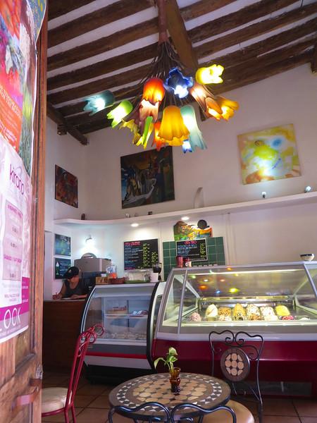 Ice cream shop - Mazatlan, Mexico