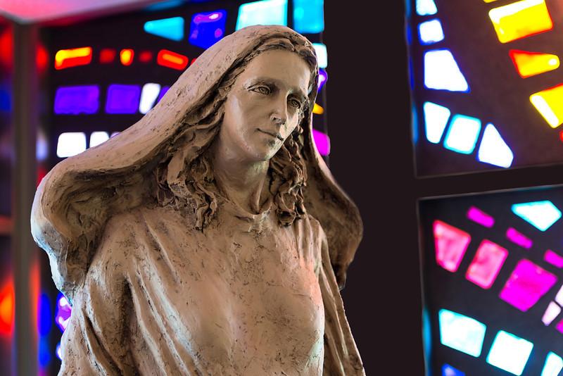 20121205 Mary Statue Phil Walenga Side view.jpg