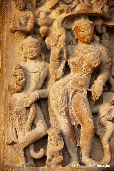 Khajuraho Exhibits Medieval Women In Finery