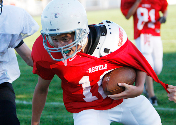 SNMS Football vs Frontier 2008