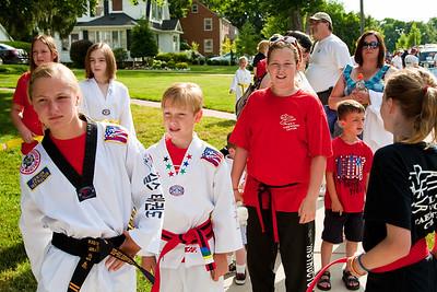 Kil's Taekwondo @ Brighton 4th of July Parade 2011, Brighton, MI