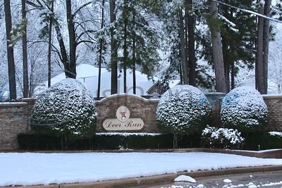 Snow blankets Deer Run by Jim Bauer