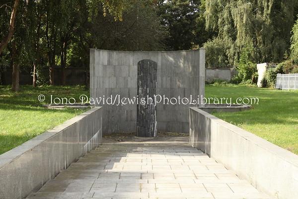 POLAND, Warsaw. Mass grave, Okopowa Street Cemetery. (9.2011)