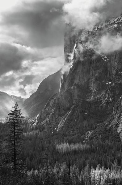 Horsetail Falls & El Cap