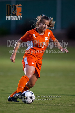 Clemson Lady Tigers vs NC State Wolfpack Women's Soccer 9/24/2004