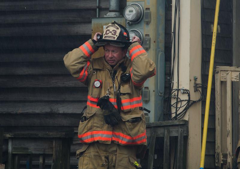 Lunenburg Capt Jim Ricci at the 6th Alm on Sherman St in Gardner.