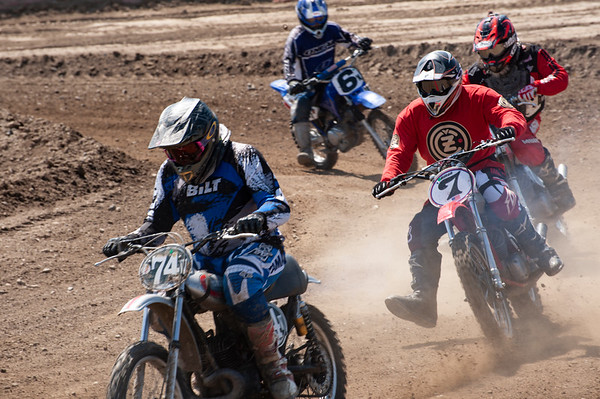 Old School Scrambles Racing Group 3-24-19