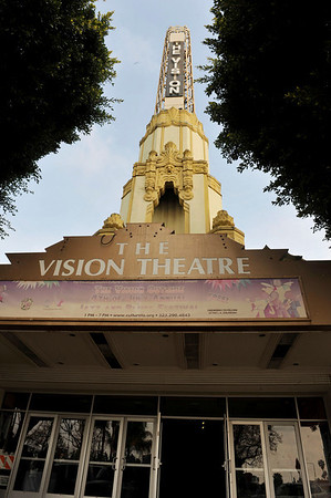 "'DIVAS"" JOIN COUNCILMAN BERNARD PARKS, AND CITY OFFICIALS TO KICK OFF RESTORATION OF HISTORIC VISION THEATRE IN LEIMERT PARK VILLAGE ON MARCH 3, 2011"