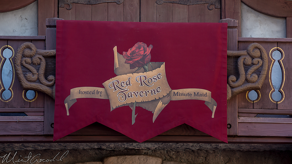 Disneyland Resort, Disneyland, Fantasyland, Village Haus, Village, Haus, Restaurant, Red Rose Taverne, Red, Rose, Tavern, Beauty And The Beast, Beauty, Beast
