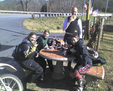 2007.12.01 - Dual Sport Newbie Ride N. GA