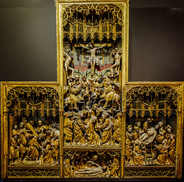 Dijon Beaux Arts Museum - Passion Altarpiece
