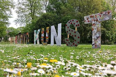 Kunstbom in het gemeentepark 2014