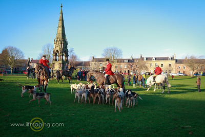Boxing Day Hunt, Denholm Green.
