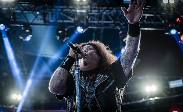 Testament performing at Tons Of Rock 2019