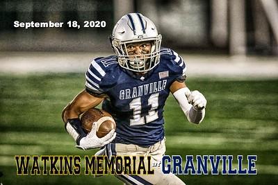 2020 Watkins Memorial at Granville (09-18-20)