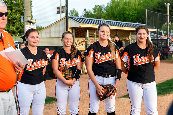 NDHS Softball vs Reynolds 2015 Senior Night