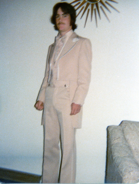 Mark ready for the prom