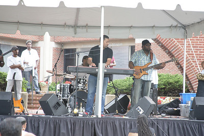 2013 Manassas Wine and Jazz Festival Featuring Marcus Johnson