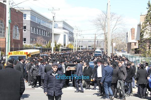 Funeral For  Engaged Couple  Elisheva Kaplan And Yisroel Levin
