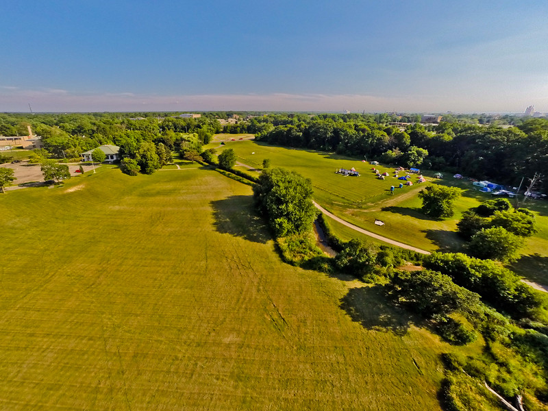High-noon Summer at the Park 27 : Aerial Photography from Project Aerospace