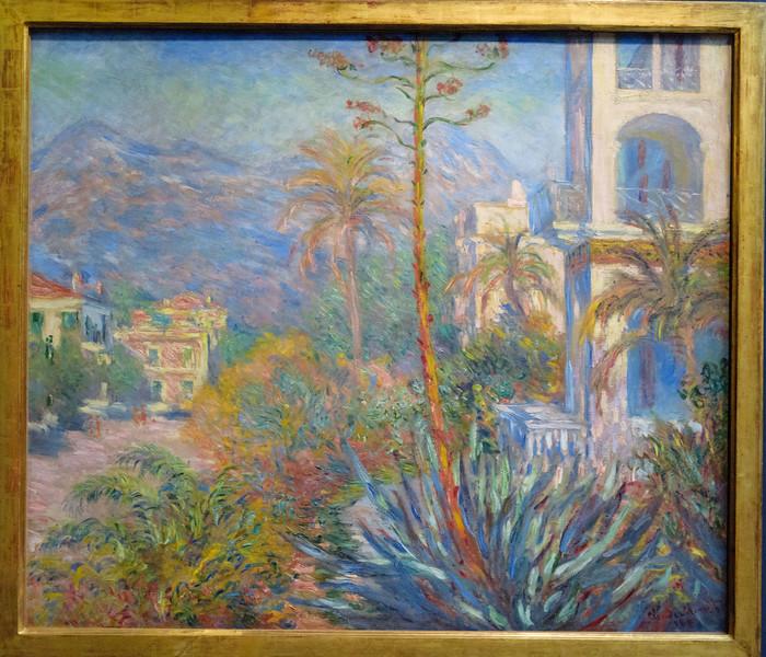 Claude Monet, Villas at Bordighera 1884