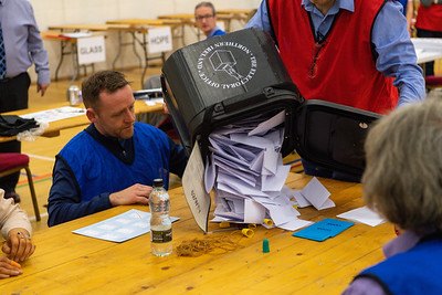 2019.12.12 General Election Count Omagh Leisure Complex