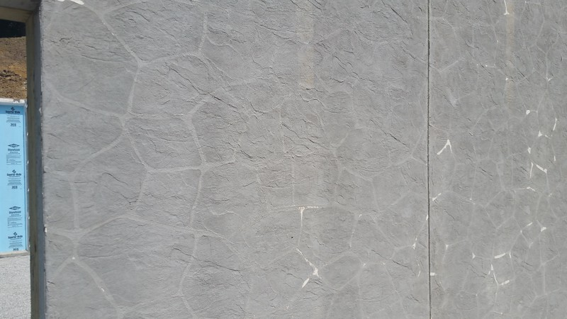 STONE STENCIL - $3.00 SQ. FT. - NO PAINT OR STAIN