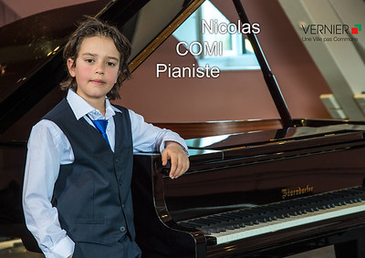 Nicolas COMI, Pianiste en herbe