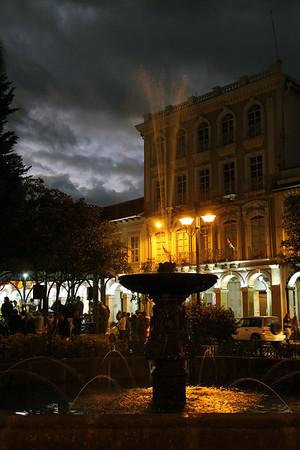 Cuenca Ecuador 2014  Day 1