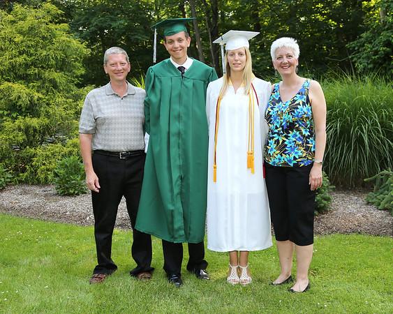 Kristen & Thomas HS graduation 6-20-13