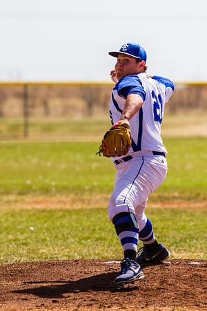 03-14-14  Muenster Sacred Heart vs ACHS Baseball