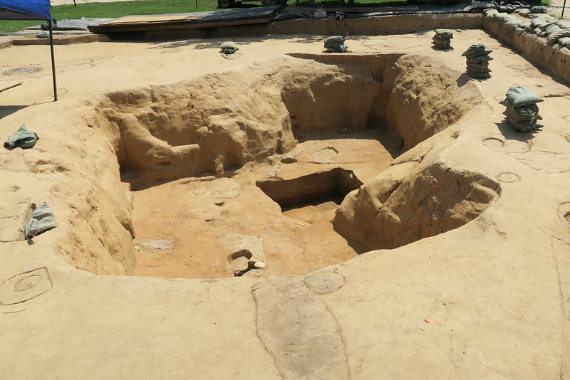1607 Fort - Excavation
