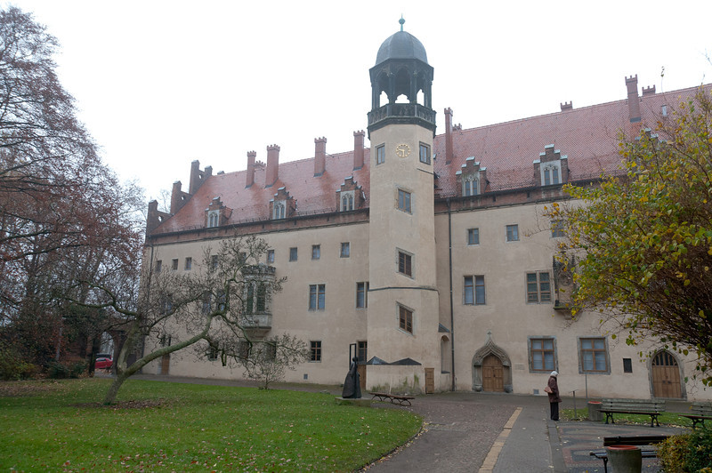Tower of the Augustinian monastery in Wittenberg, Germany